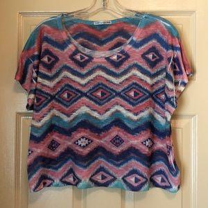 Multicolored graphic T-shirt